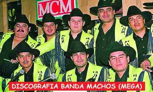 Discografia Banda Machos Mega Completa Grandes Exitos