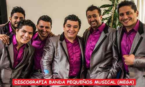 Discografia Banda Pequeños Musical Mega Completa Exitos