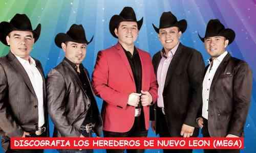 Discografia Los Herederos De Nuevo Leon Mega Completa