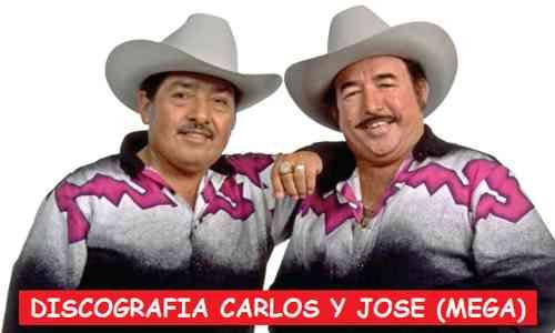 Discografia Carlos y Jose Mega Completa Exitos De Oro