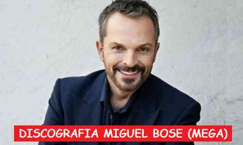 Discografia Miguel Bose Mega 1 Link Completa Exitos