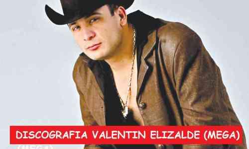 Discografia Valentin Elizalde Mega Completa Exitos
